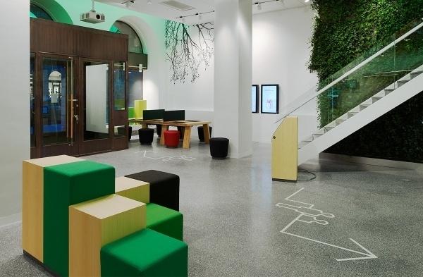 BVD — Skandia #design #skandia #wood #scandinavian #bank #bvd #future