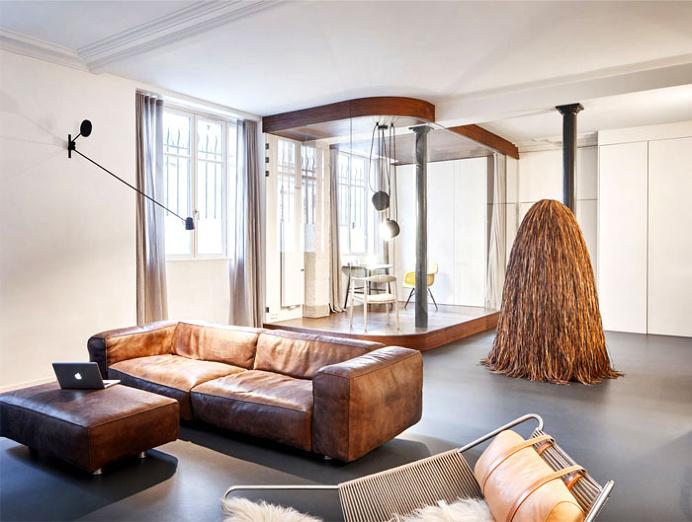 Parisian Apartment by CUT Architects - interior design, interior, decor, home decor, home design