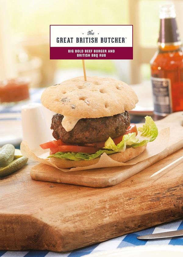 British BBQ - recipe card