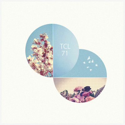 The Collective Loop Playlist-71 | The Collective Loop #playlist #circles #flowers #tcl #coverart