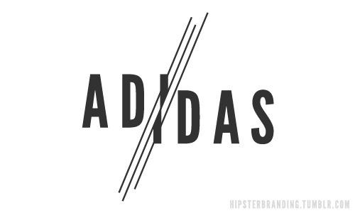 Hipster Branding #logo #adidas #hipster #branding