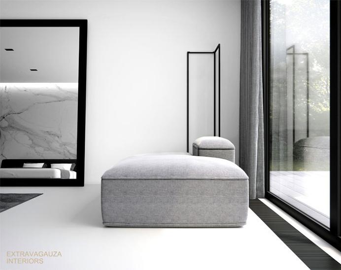 Attractive Minimalism at Project Calacatta by Studio Extravagauza - InteriorZine