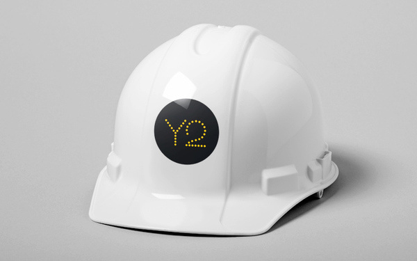 Y2 Architecture #yellow #bold #circles #black #clean #hat #minimal #hard