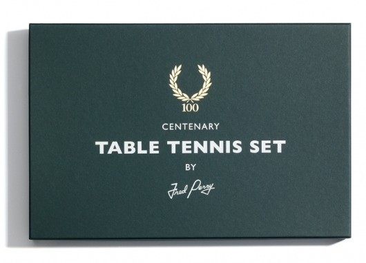   Allan Peters #noble #tennis #packaging #perry #crest #studio #logo #fred #table
