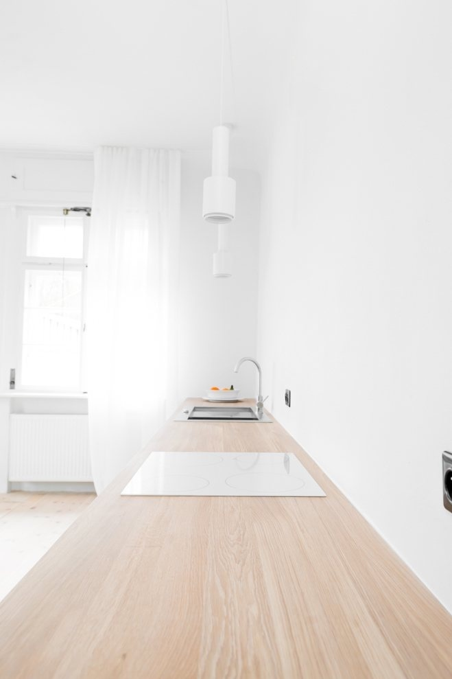 Kitchen. House from the 20's by Jacek Kolasiński. Photo by Karolina Bąk. #jacekkolasinski #interiordesign #kitchen