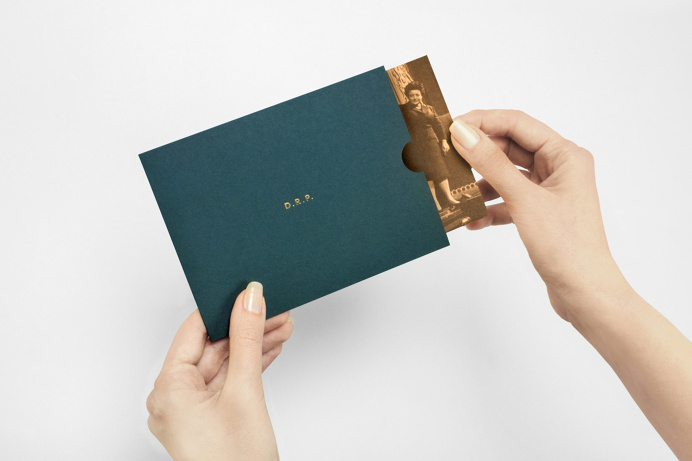 Brand identity and print with gold foil detail designed by London-based studio Two Times Elliott for Soho members bar Disrepute