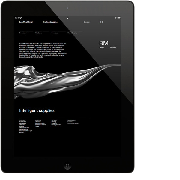 Keller Maurer Design #ipad #web
