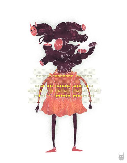 digital painting #monster #digital #illustration