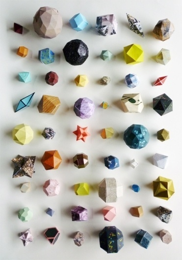 lydia shirreff | mint #minerals #geometry #shirreff #color #neat #shape #lydua #organized