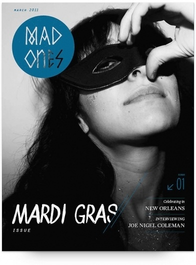 UW Design Show 2011 | Lola Migas #gras #mardi #publication #photography #mad #magazine #typography