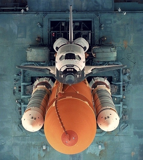View From the Middle #shuttle #launch #space #technology