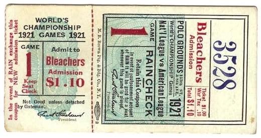 a time to get: Vintage Baseball Tickets #baseball #vintage