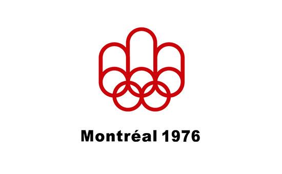 Montreal 1976 Olympics Logo Design #logo #design