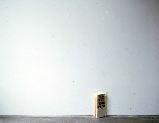 Todd Knopke : Closet #sculpture #secret #art #miniature #bookshelf