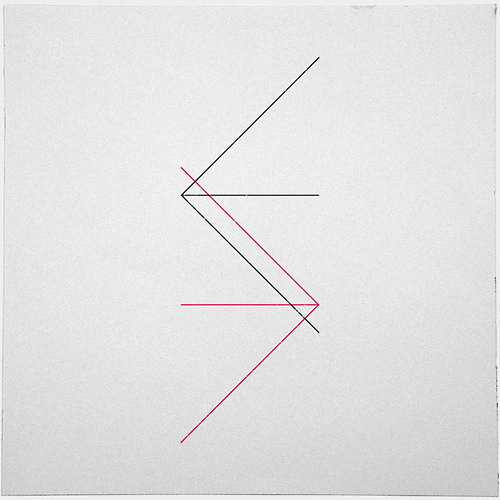 #309 Directions – A new minimal geometric composition each day