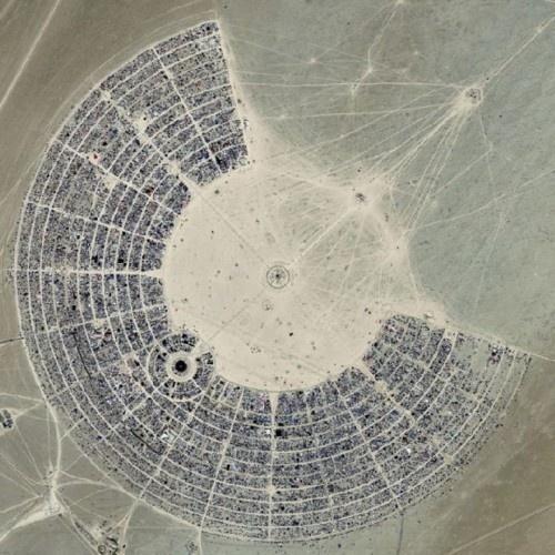 source: burningman.com #photography #aerial #landscape