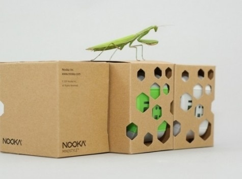 Glue-Less Origami Packaging Can Be Assembled In Seconds [Pics] Nooka-glue-less-eco-friendly-packaging-design – PSFK #packaging