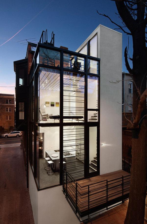CJWHO ™ (Barcode House, Washington, DC, USA by David...) #washington #design #living #photography #architecture #usa #luxury