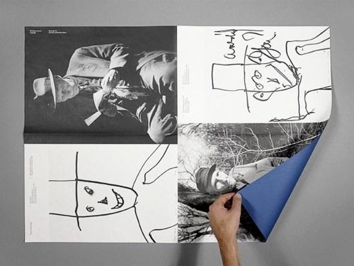 - jesuisperdu: g & j #abstract #layout #drawing