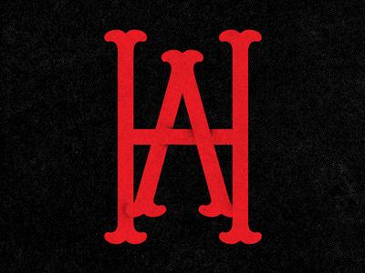 Homers Apparel Monogram #icon #texture #logo #monogram #lockup #vintage #type