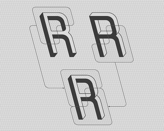 A Brain-Breaking Typeface Where Every Letter Is An Optical Illusion | Co.Design: business + innovation + design #optical #illusion #design #fustro #martzi #hegedus #type #typography