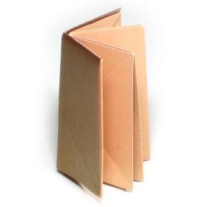 How to make an origami album (long book) (http://www.origami-make.org/howto-origami-book.php) #origami #book #origamibook #origamialbum #ea