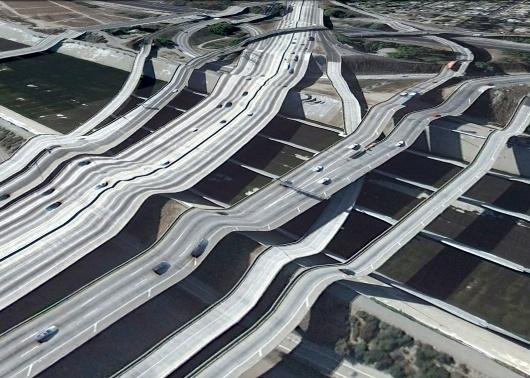 ravimvasavan at Computerlove - Postcards from Google Earth, Bridges #googleearth #photography #bridges
