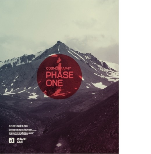 astronaut #design #phase #one #cosmography #circle #mountains
