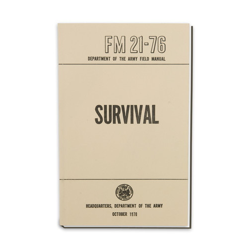US Military Outdoor Survival Field Manual New Paperback | eBay #cover #survival #book