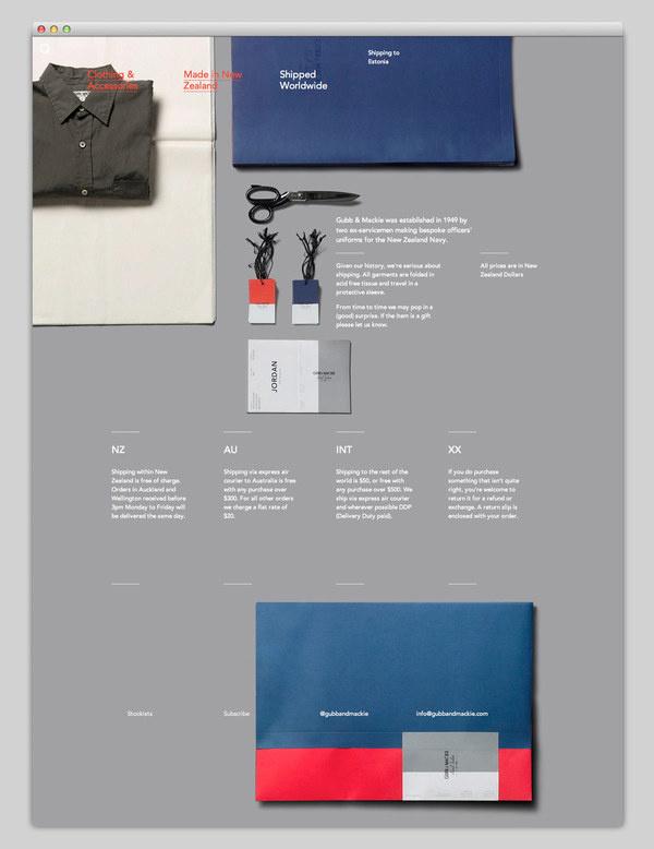 Gubb & Mackie (stunning grid-based layout) #design #website #grid #layout #web #typography