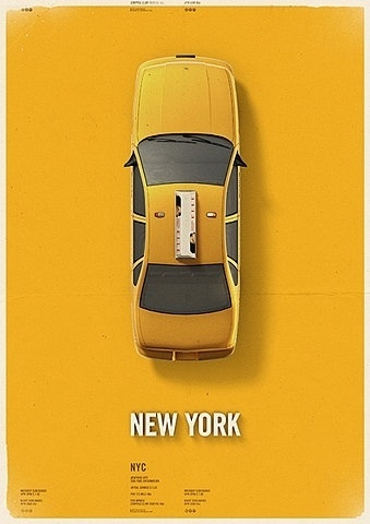 FFFFOUND! | taxi,please « thaeger #poster