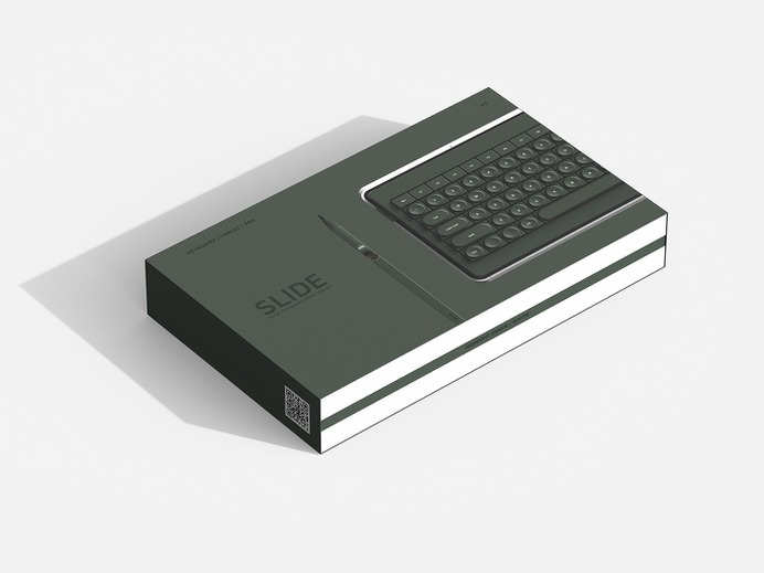 Keyboard for Creative's Desk - slide cover