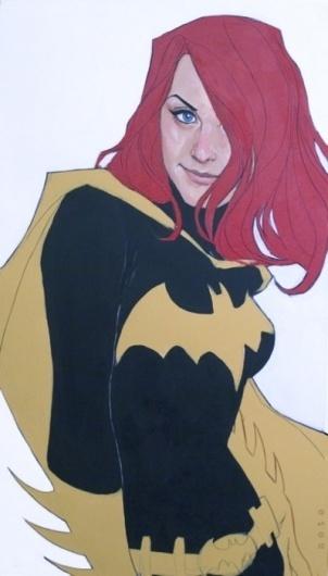 Tumblr #batgirl #gordan #illustration #comics #barbara
