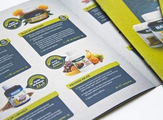 Naiak Alimentos Funcionais | fullDesign Comunicação Integrada | Agência de publicidade e propaganda em Brasília - DF #naiak #print #medicine #food #nature #natural #description #green