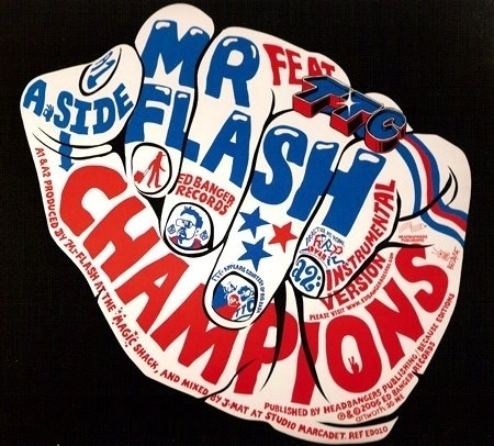 mrflash.jpg (image) #type #flyer #lettering #typography