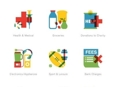 Dribbble - 22 Seven by R A D I O #illustration #vector #icons
