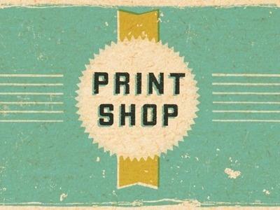 Print Shop #wallace #dustin