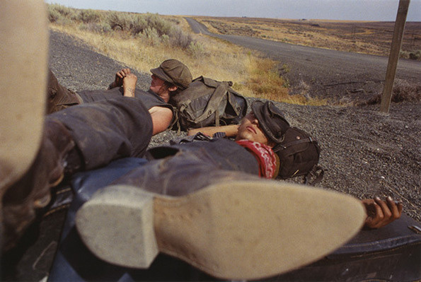 Hitchhikers #perspective #mike #brodie #photography #hitchhiker