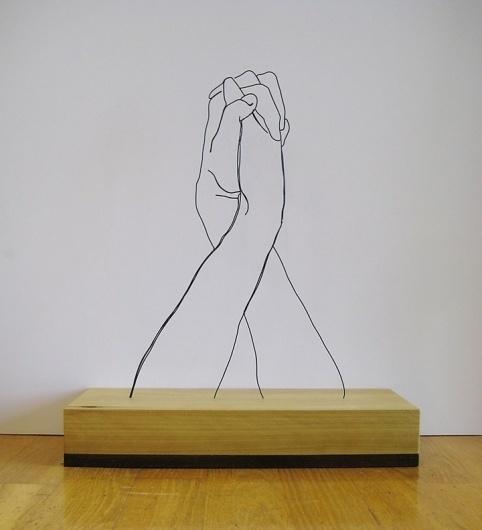 Gavin Worth   iGNANT #sculpture #worth #gavin #wire #art