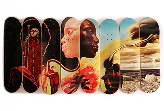 » Western Edition 'Bitches Brew' Skateboard Decks » F5toRefresh #skateboard #bitches #brew
