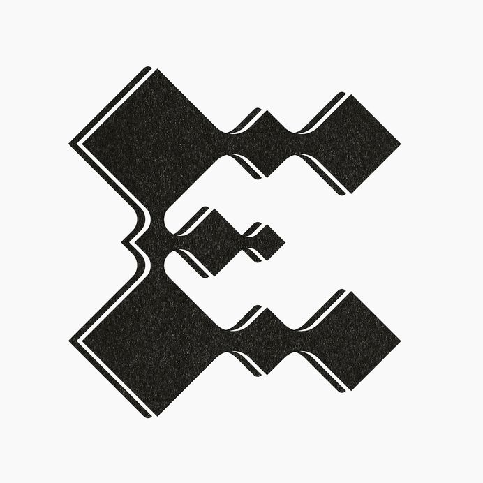 E – by Studio Lookout #typography #typedesign #graphicdesign #E #lettering