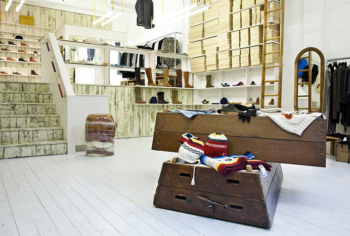 Folk Clothing by IYA Studio #interior #design #store