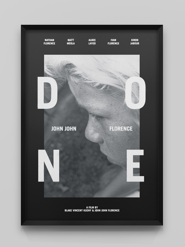 john john florence creative direction done wedge and lever2 #poster