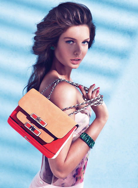 Sandrah Hellberg by Claudia & Ralf Pulmanns for Guess Campaign #fashion #photography #girl #beauty