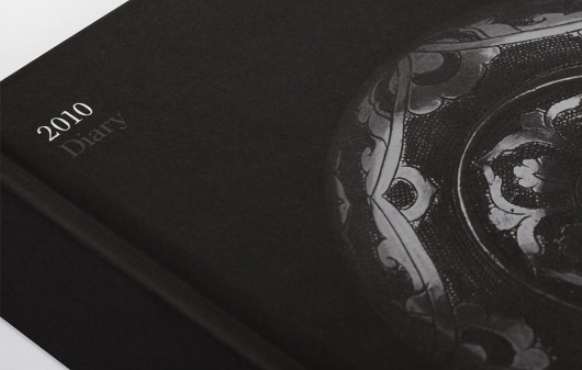 Ideas Factory – New Website, New Work | September Industry #gloss #matte #design #graphic #book #black #cover #diary