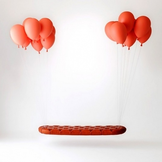 Balloon Bench - Defringe #balloon #photography