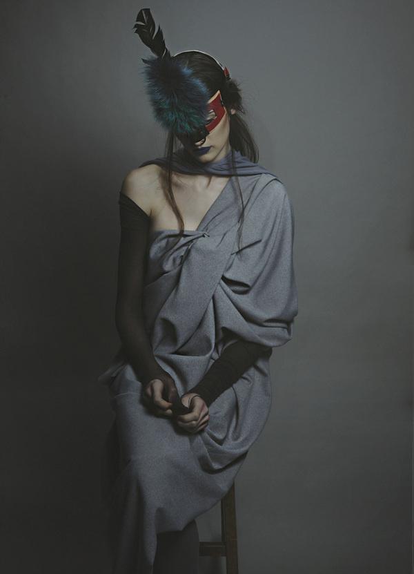 """Prosopon"" by Christina Ioannidou | PICDIT #fashion #photo #photography #art"