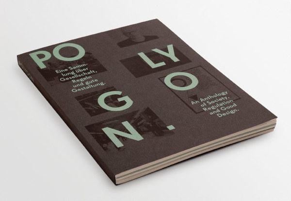 Polygon PORTFOLIO OF FABIAN BREMER #cover #editorial #layout #book