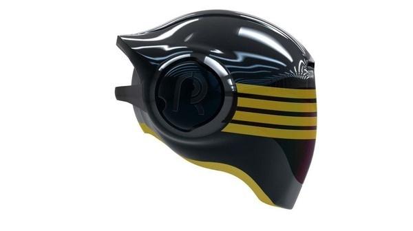 Del Rosario motorcycle helmet CAD 08
