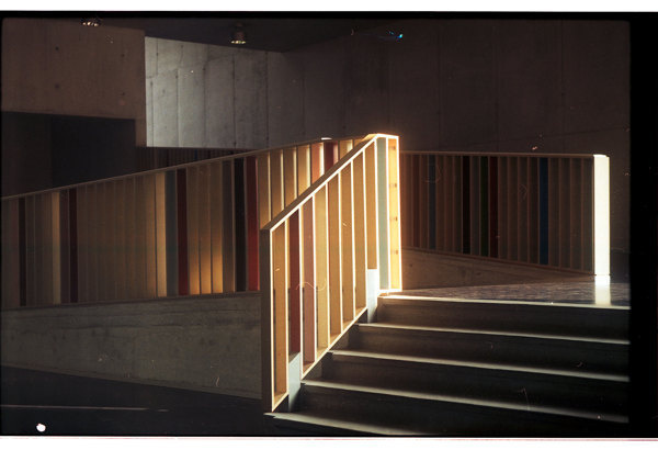 Analogue stairs #old #analogue #photo #color #stair #photography #stairs #light